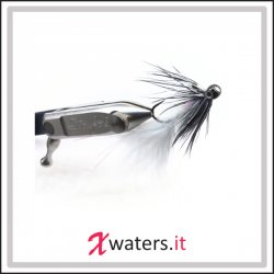 XWaters Polifemo Minnows White Barbless #6