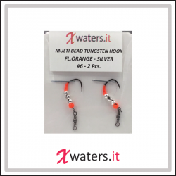 Trout Area - 0,65 gr. Bead Heads Tungsten Fluo Chartreuse